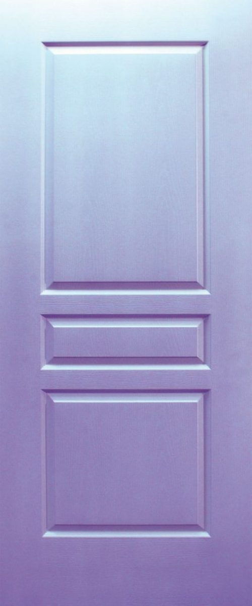 classic deisgn door purple