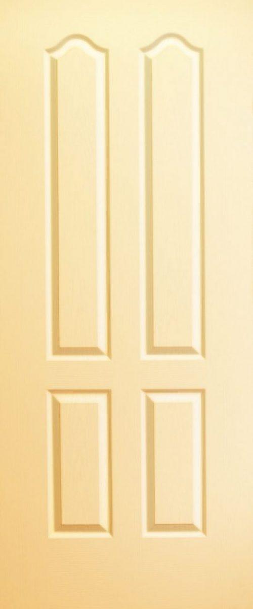 classic deisgn door yellow