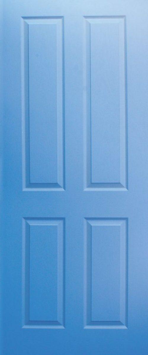 blue classic deisgn door