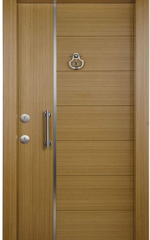 Fired-rate main door