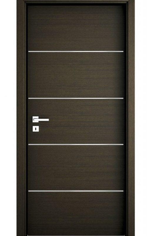 black Fired-rate door