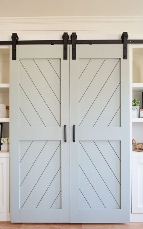 classic sliding barn door